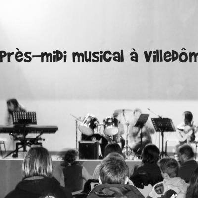 Après-midi musical à Villedômer